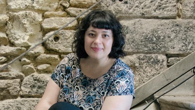"""Lorena Conde, autora de """"As mil vidas de Dorotea"""""""