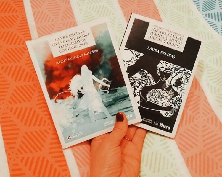 Colección Palabras hilanderas de Huso Editorial